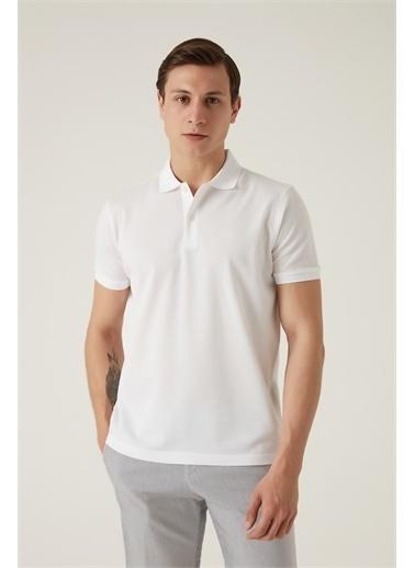 Damat Damat Haki T-Shirt Beyaz